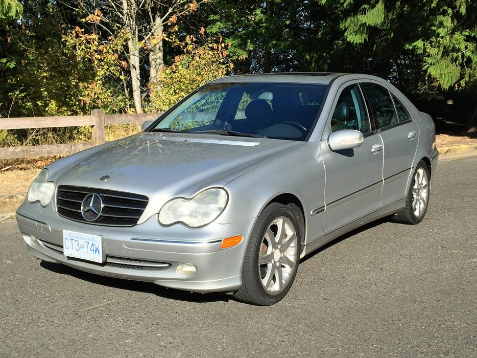 Mercedes benz 2003 c230 kompressor sedan rwd automatic w for Common problems with mercedes benz c class