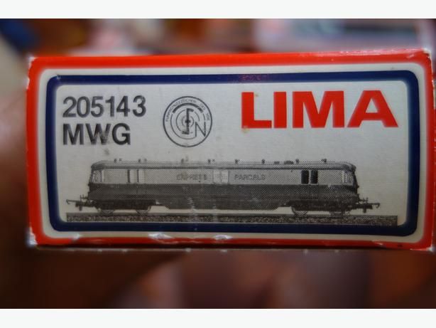 Lima 205143MWG Express Parcels Locomotive No. 34