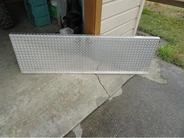 Diamond Plate Full Front Bed Protector