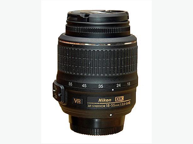 Nikon 18-55mm VR kit lens