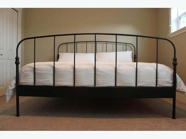 ikea lillesand king bed frame and mattress west shore langfordcolwoodmetchosinhighlands victoria