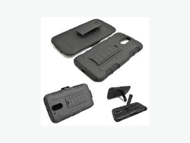 New Premium 3 in 1 Armor Stand Holster Case Motorola Moto G4 Plus