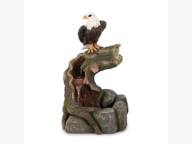 Indoor Outdoor Eagle Statue Water Fountain 2 Designs Your Choice New