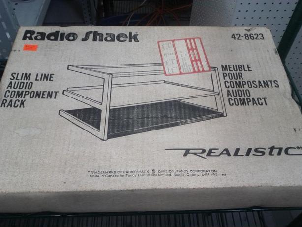 Vintage Audio Component Rack