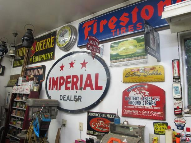 Wanted; Old Signs, Gas Pumps, Oil Cans