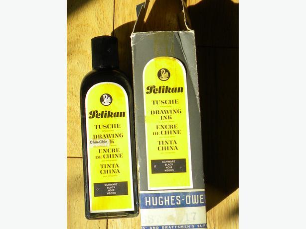 FOR SALE: Large bottle Black India Ink(Osgoode villiage)