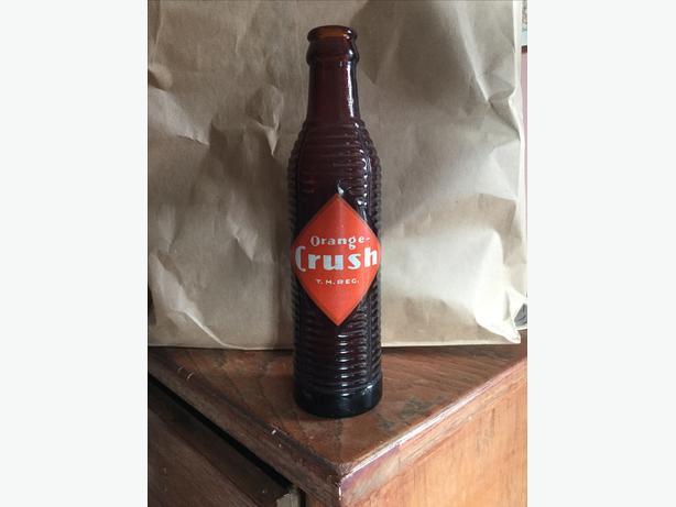 Orange Crush Bottle 1948 $10