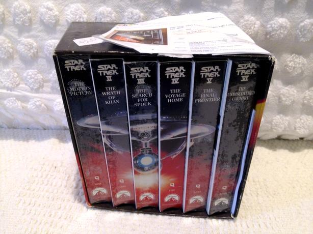 Boxed Set, VCR tapes, Star Trek Original
