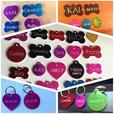 Engraved pet tags, Equine plates, Military tags, Medical alert etc.