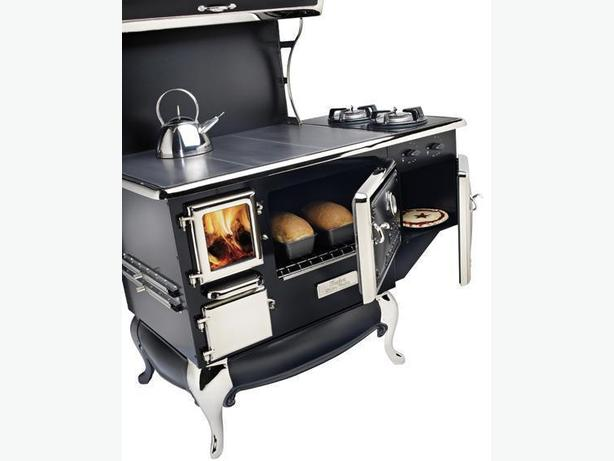 Fireview Wood Gas Combo Cook Stove New Certified