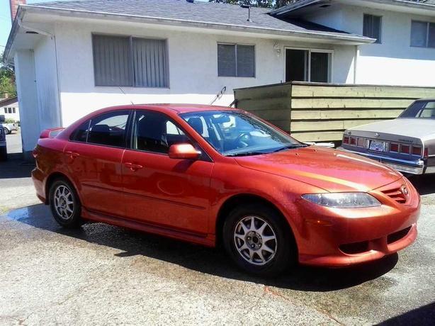 Sporty Mazda 6