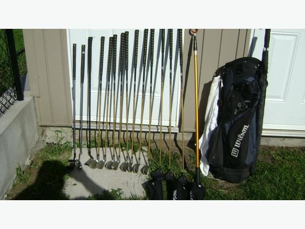 Full set of Men's RH golf clubs