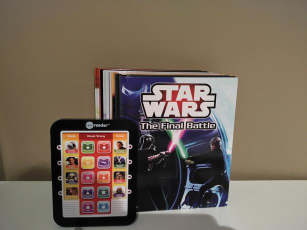 Star Wars E-Reader with Books