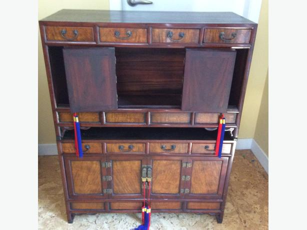 Matched Pair Korean Tansu's