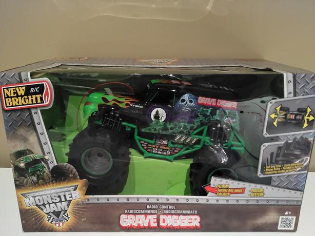 Monster Jam Truck with remote Control