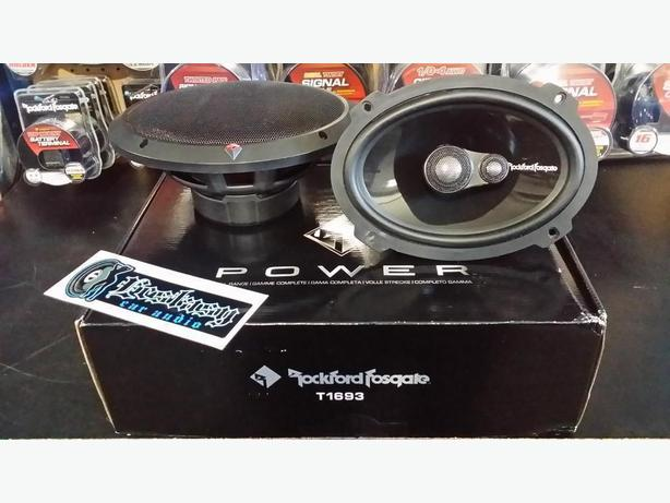 Rockford Fosgate Power 6x9's top of the line