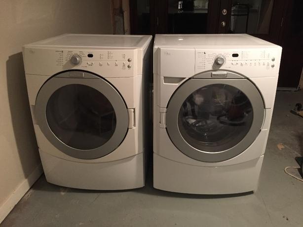Ordinaire KitchenAid Front Loader Washer Dryer Pair