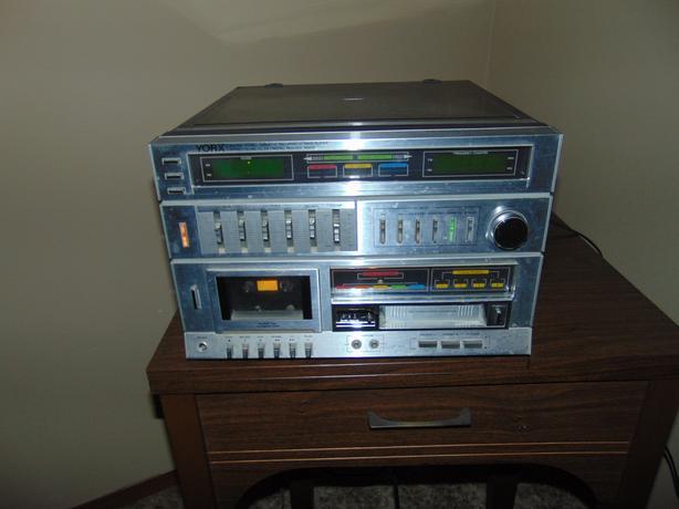 VINTAGE YORX AUDIO SYSTEM