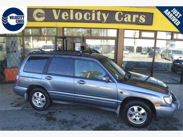 1999 Subaru Forester 25K's AWD Turbo 237hp Low Mileage