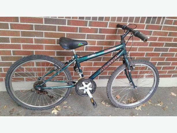 """Boys 24"""" Arashi bike"""