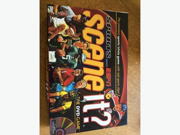 Scene It Sports DVD game