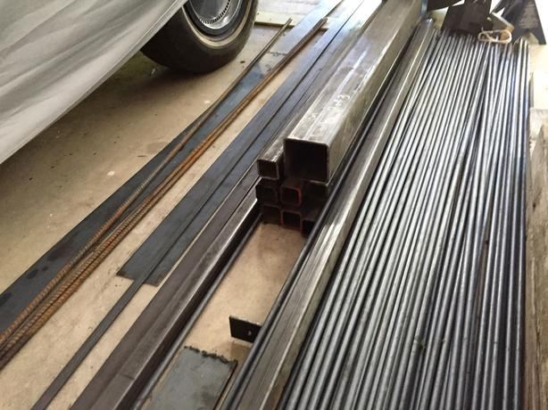 Rod and Box Iron For Sale