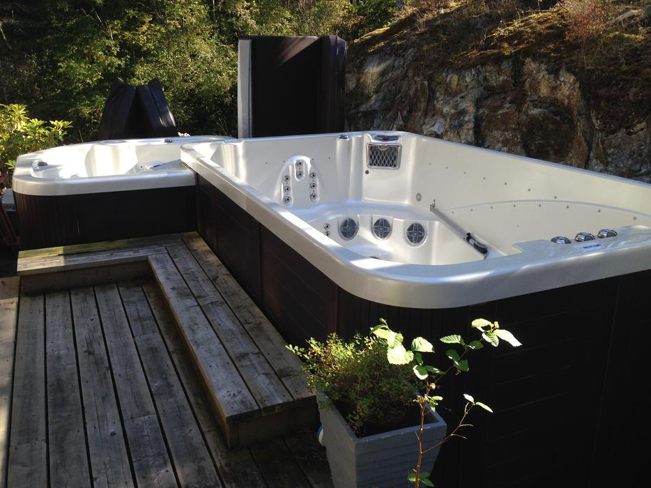 Swim Pool Spa Hot Tub Combo 20 500 Outside Cowichan Valley Cowichan