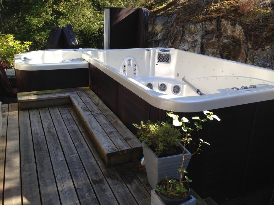 Swim Pool Spa Hot Tub Combo 20 500 Outside Nanaimo Nanaimo