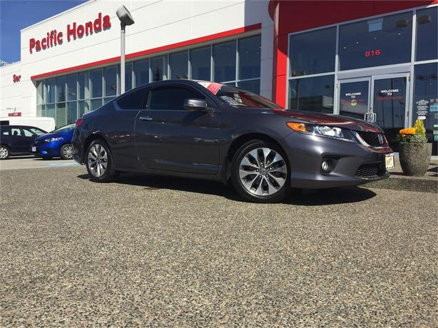 2015 Honda Accord EX-L W/NAV LOCAL 1 OWNER WITH ZERO CLAIMS