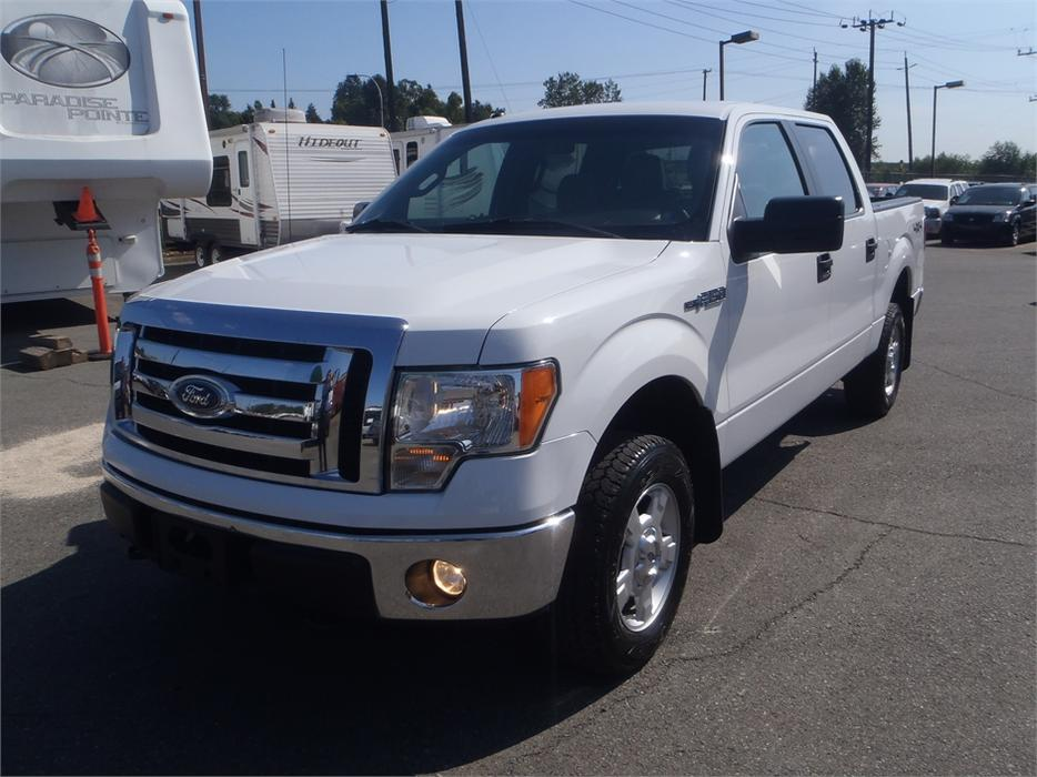 2011 Ford F 150 Xlt Supercrew 5 5 Ft Bed 4wd Outside