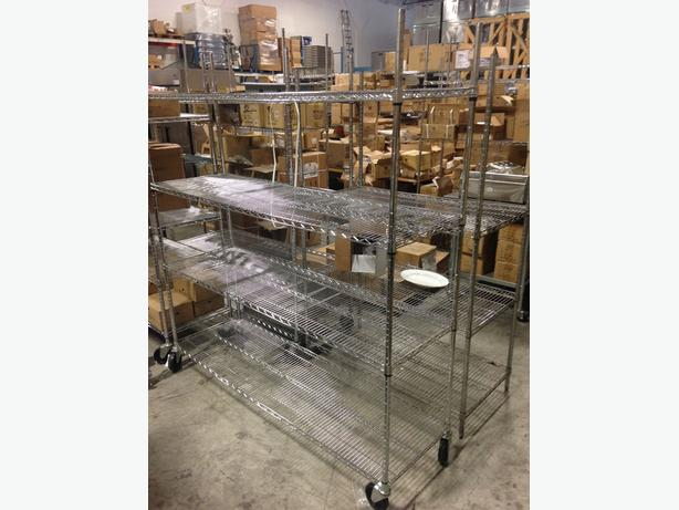 Chrome & Epoxy Wire Shelving – Best Offer