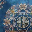 BLUE CHINESE CARPET