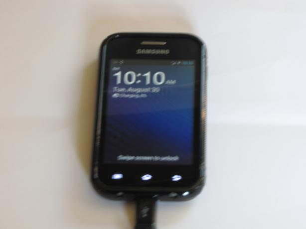 Samsung discovery cell phone