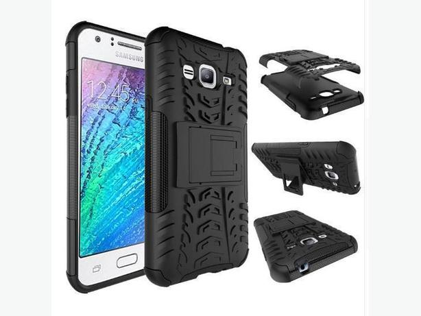 Rugged Armor Heavy Duty Hybrid Case for Samsung Galaxy J3