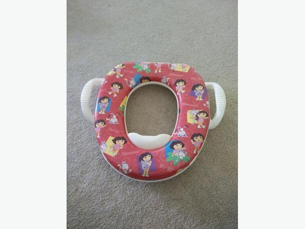 dora toddler toilet seat