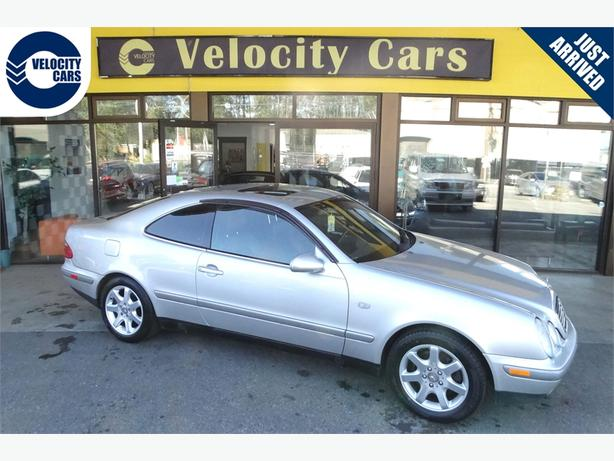 1997 Mercedes-Benz CLK-class CLK320 83K's Coupe Leather Sunroof
