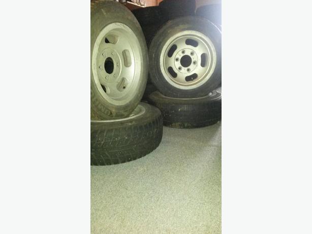 old school 6x5.5 D slot wheels