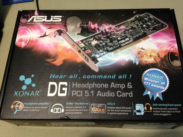 Asus Headphone Amp and PCI 5.1 Audio Card