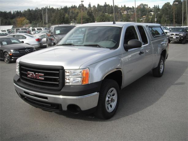 2013 gmc sierra 1500 work truck ext cab short box 4wd w canopy outside comox valley courtenay. Black Bedroom Furniture Sets. Home Design Ideas
