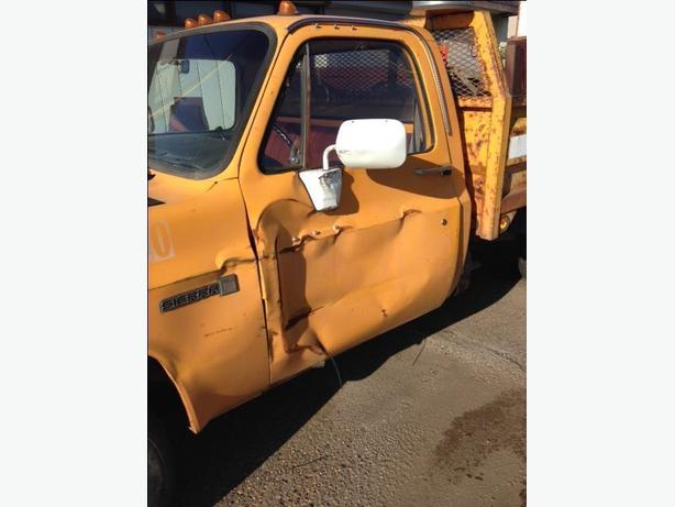 1985 GMC DRIVER SIDE DOOR WANTED