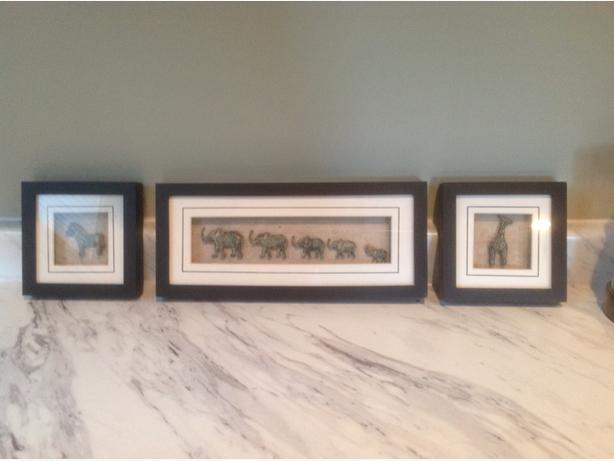Framed shadow boxes