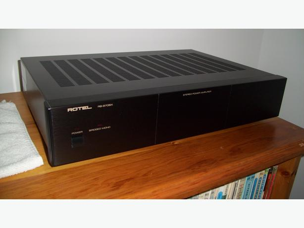 ROTEL 970 BX Mark II Power Amplifier for Sale