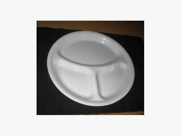 Divided Dinner Plate - Corelle Ware & Divided Dinner Plate - Corelle Ware Duncan Cowichan