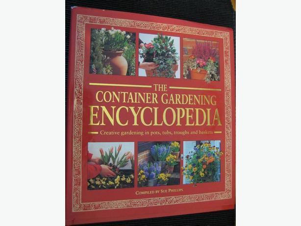 2 Lovely Gardening Books - Container Gardening/Gardening Skills