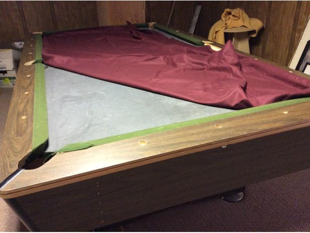 FREE POOL TABLE Port Alberni Alberni - Moving a pool table in one piece