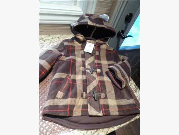 NEW Boy's hooded jacket for Fall