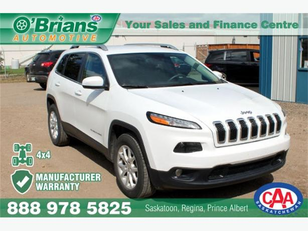 2015 Jeep Cherokee Latitude - 4x4 WARRANTY