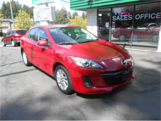 2013 Mazda Mazda3 GS + LEATHER PKG