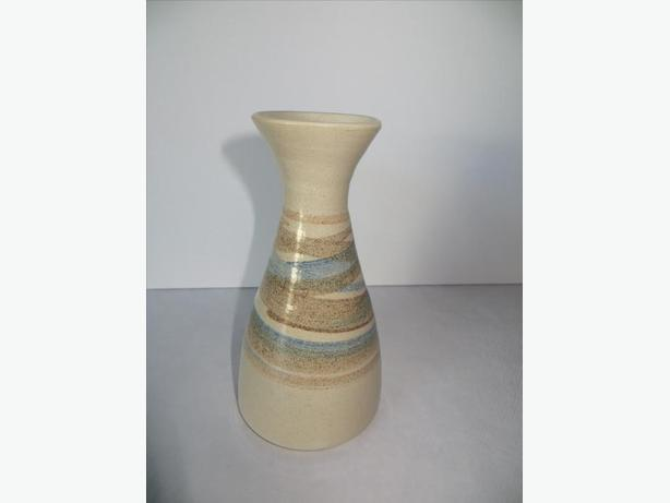 "Glazed Ceramic Vase......7"" high"