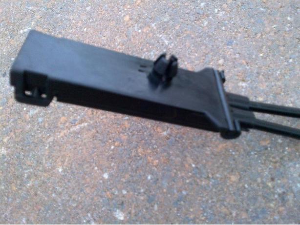 03-11 MERCEDES OEM R230 SL65 SL55 HOOD LOCK LATCH RELEASE CABL A2308800059